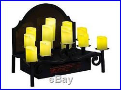 20 Infrared Electric Candle Heater Insert Duraflame 12 LED Fireplace Candelabra