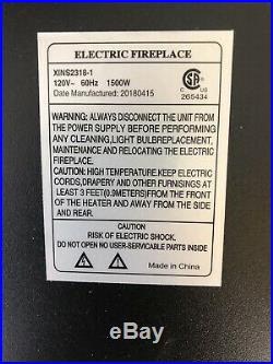 23 Electric Fireplace Insert XINS2318-1