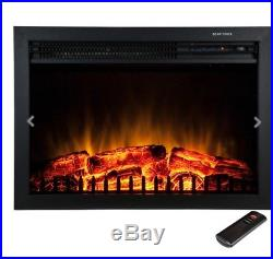 23 Free Standing Insert Heater 3D Flame Wood Log Electric Fireplace Y-EF461