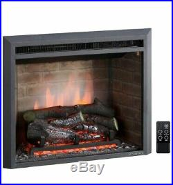 23inch Western Electric Fireplace Insert with Remote Control Model EF42D