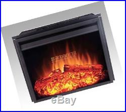24 new Electric Fireplace Insert (2301T) Adjust Temp Remote Heater flame