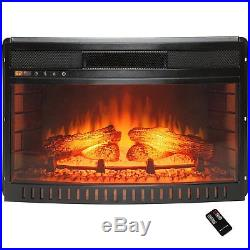 26 Adjustable Electric Fireplace Heater Stove Insert with Remote Control