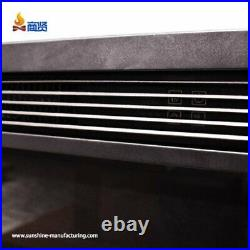 26 Curved Screen Electric Fireplace Insert Electric Fireplace Heater with R3