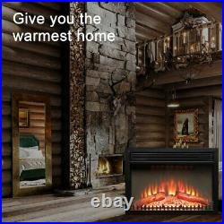 26 Electric Heater Recessed / Wall Mounted Fireplace Insert with Remote Control