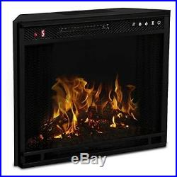 28 Flat Ventless Heater Electric Fireplace Insert Better than Wood Fireplaces