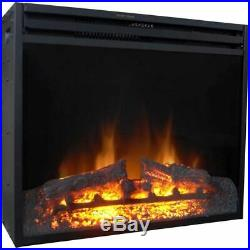 28 Freestanding 5116 BTU Electric Fireplace Heater Insert with Remote