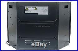 28 Insert Electric Modern Fireplace 1400 Wt Safe Cutoff Remote Control