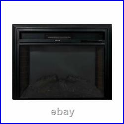 28 Inch in-Wall Electric Fireplace Inserts Heat Adjustable with Remote Control