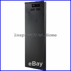 28 Tempered Glass Freestanding Electric Insert Fireplace Heater Stove with Remote
