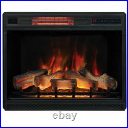 28 inch ClassicFlame 28II042FGL Electric Fireplace Insert Heat and Flame Effects