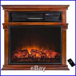 29 Freestanding Electric Fireplace Insert Heater with Remote Control Y-SF230-23