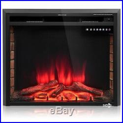 30 750W-1500W Fireplace Electric Embedded Multi Color Fireplace Insert