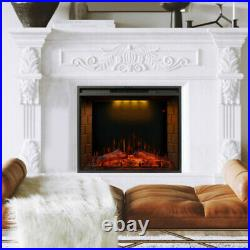 30 Electric Fireplace Recessed insert or Wall Mounted Standing Electric Heater
