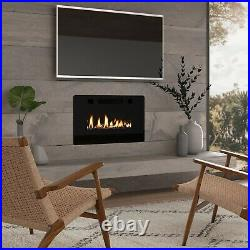 30 Recessed Electric Fireplace Insert Wall Mounted Fireplace Heater