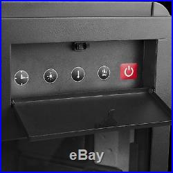 33 Insert Wood Flame Free Standing Electric Firebox Fireplace Remote Y-EF05-33