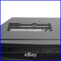 35 Black Freestanding Insert 22 Settings Fireplace Heating Gear Logs Electric