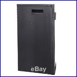 35 Black Freestanding Insert 22 Settings Logs Electric Fireplace Heating Gear