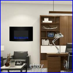 35 Electric Fireplace Recessed insert Wall Mounted Standing Electric Heater