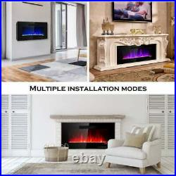 36 Durable electric infrared Portable Fireplace Embedded Insert With Remote