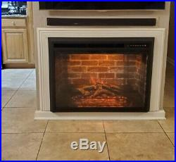 36 Electric Fireplace Insert Stove Heater Freestanding with Remote