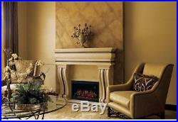 36 In. Traditional Built-in Electric Fireplace Insert 800 Sq Ft Living Room
