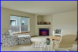 39 Electric Fireplace Insert, Traditional Stove with Remote Control and Timer