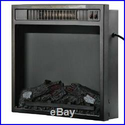 47 Electric Fireplace Insert Heater Wall Mounted with electric Fireplace 1500W