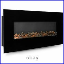 50 Electric Wall Mounted Fireplace Heater With Adjustable Heating New Quality +++