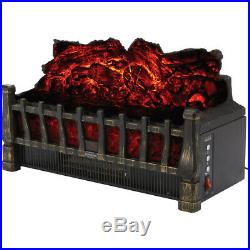 5100 BTU Electric Log Insert with Real Flame Effect FREE SHIPPING