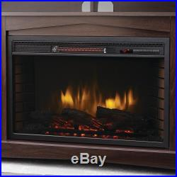 70 in. TV Stand Infrared Electric Fireplace (Insert Only)