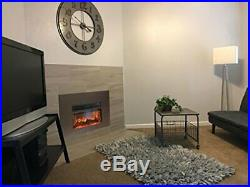AA Warehousing Y-Décor True Flame electric fireplace insert 24 with front su