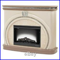 AICO Furniture Overture Fireplace with Electric Firebox Insert 08220-13-AFBC