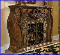 AICO Furniture Palais Royale Fireplace with Electric Fireplace Insert 71220