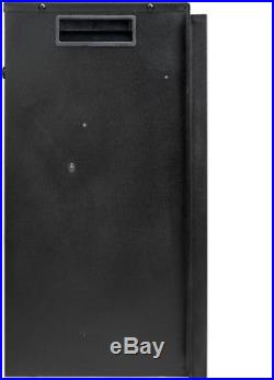 AKDY 23 in. Freestanding Electric Fireplace Insert Heater in Black with Glass