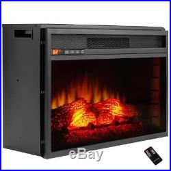 AKDY 26 in. Freestanding Electric Fireplace Insert Heater in Black 42