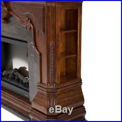 Aico Tuscano Melange Melange Fireplace with Electric Insert MA-34220-34