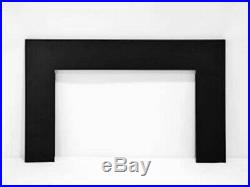 Amantii 26 Electric Fireplace Insert with 3 Side Trim Kit and Canopy Lighting