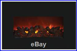 Amantii 30 Electric Fireplace Insert Small Insert Black Surround Logs Or Ice
