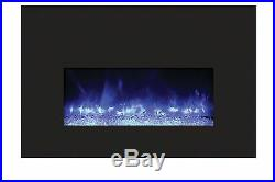 Amantii INSERT-26-3825-BG Insert Series Electric Fireplace with Ember Media Kit