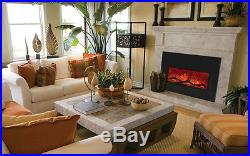Amantii Insert-33-4230 32 WIDE Modern LED Built-in Electric Fireplace, DEALS