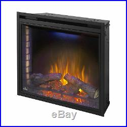 Ascent 33 9000 BTU Home Living Room Built In Electric Fireplace Insert Heater
