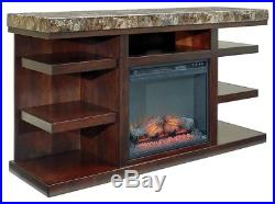 Ashley Furniture Signature Design Small Electric Fireplace Insert Includes I