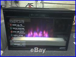 Bell'o SpectraFire Plus Contemporary Electric Fireplace Insert, 26EF031GPG-201