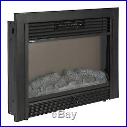Best Indoor Electric Fireplace Insert Embedded Wall Log Heater Remote SKY1826