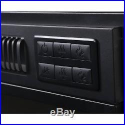 Black Metal 24-inch Electric Firebox Insert