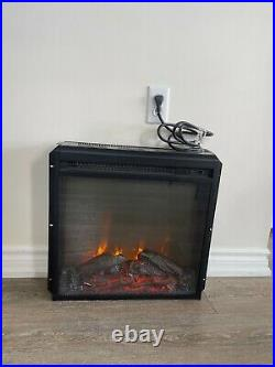 Brand New Electric Fireplace Insert with Cord Plug In Heater Fire