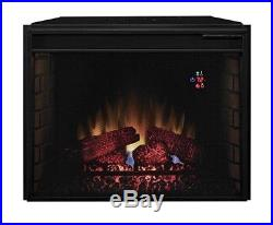 Brand new Classic Flame 28EF023SRA Electric Fireplace Insert With Heater 28''Black