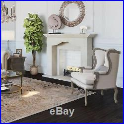 Brindle Flame 20 Candle Electric Fireplace Decorative Insert with Infrared Heater