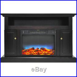 CAM50212COFLED-Sorrento Electric Fireplace with Multi-Color LED Insert and