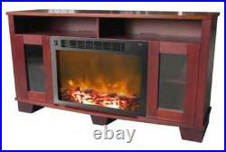 Cambridge Savona Fireplace Mantel with Electronic Fireplace Insert